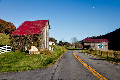 Pretty Quilts Photograph - West Virginia's Rural Heritage Quilt Trail by Mountain Dreams