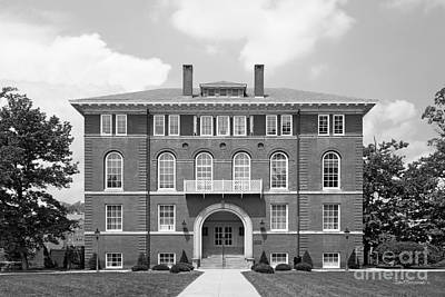 Woodburn Hall Photograph - West Viriginia University Chitwood Hall by University Icons