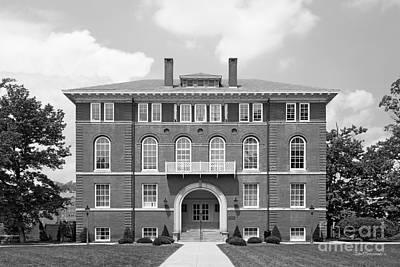 West Viriginia University Chitwood Hall Art Print by University Icons