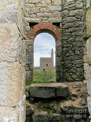 Photograph - West Wheal Owles From Wheal Edward by Terri Waters