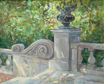 Westbury Gardens Art Print