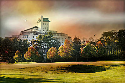 Westchester Country Club Art Print by Diana Angstadt