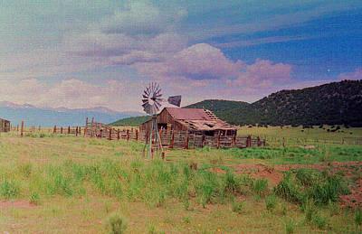 Westcliff Colorado Art Print
