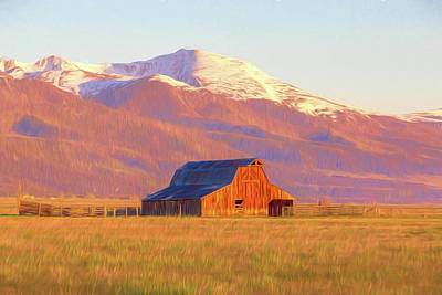 Photograph - Westcliffe Barn by Eric Glaser
