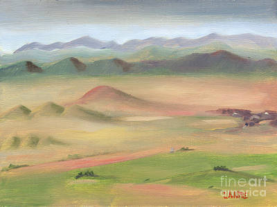 Painting - Westcliffe Valley II by Lilibeth Andre