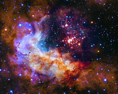 Photograph - Westerlund 2 - Nasa by Paul W Faust - Impressions of Light