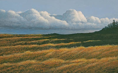 Westerly Art Print by Laurie Stewart
