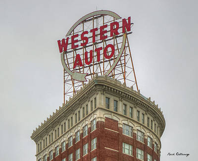 Photograph - Western Auto 2 Lofts Building Kansas City Architecture Art by Reid Callaway