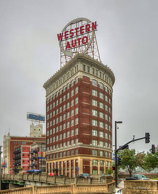 Photograph - Western Auto Lofts Building Kansas City Architecture Art by Reid Callaway