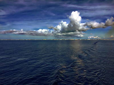 Photograph - Western Caribbean Seascape by Anthony Dezenzio