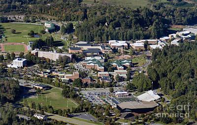 Western Carolina University Photograph - Western Carolina University Campus by David Oppenheimer