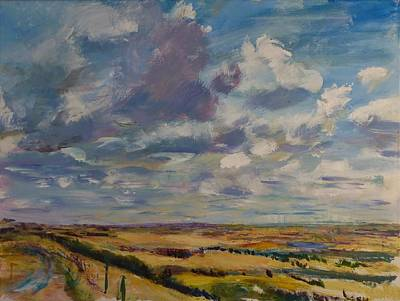 Painting - Skies Westward by Helen Campbell