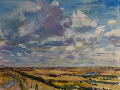Painting - Skies Westward by Helen Campbell