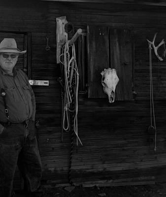 Painting - Western Cowboy by Jennifer Lake