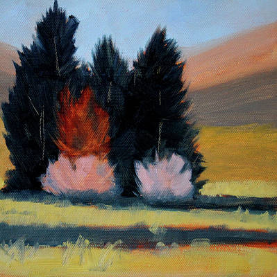 Painting - Western Grove by Nancy Merkle