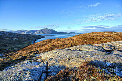 Isle Of Harris Wall Art - Photograph - Western Harris by Smart Aviation
