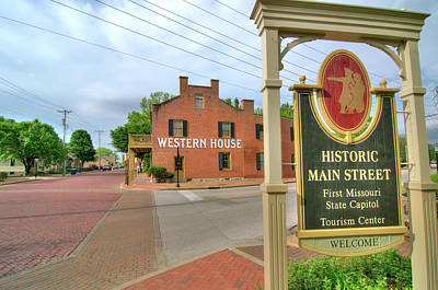 Photograph - Western House 2 by Steve Stuller