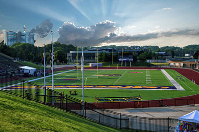 Photograph - Western Illinois University Football Stadium by Thomas Woolworth