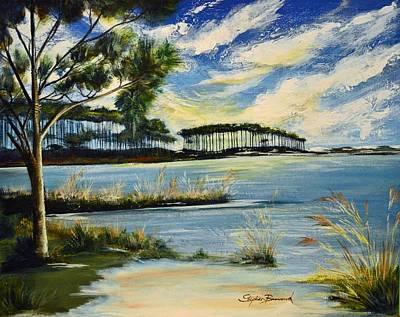 Western Lake 30a Original by Stephen Broussard