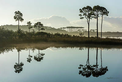 Photograph - Western Lake Misty Morning by Kurt Lischka