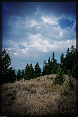 Photograph - Western Montana High Country by Mick Anderson