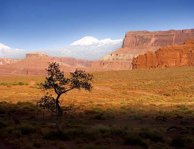 Open Range Photograph - Western Ranch Scene by Bryan Allen
