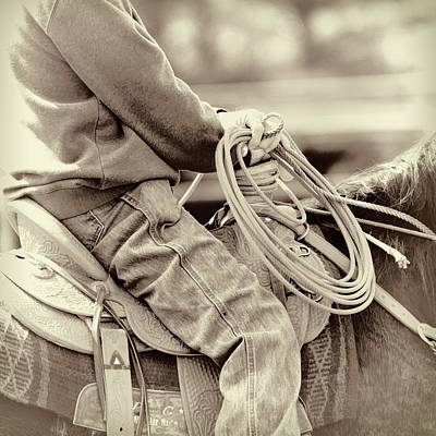 Photograph - Western Rope by Steve McKinzie