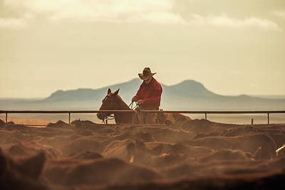 Cowboy Hat Photograph - Western Singe by Todd Klassy