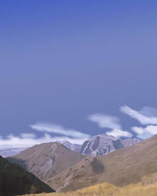 Digital Art - Western Skies by Victor Shelley