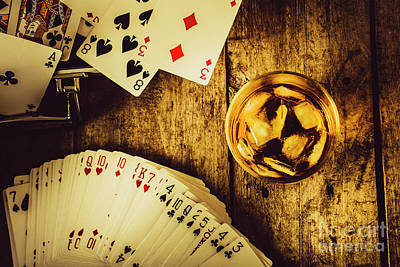 Poker Photograph - Western Straight Shooter  by Jorgo Photography - Wall Art Gallery