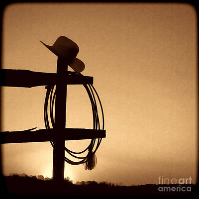 Photograph - Western Sunset by American West Legend By Olivier Le Queinec