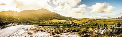 Western Tasmania Mountain Range Art Print by Jorgo Photography - Wall Art Gallery