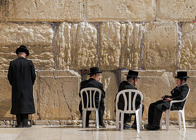 Photograph - Western Wall by Steven Richman