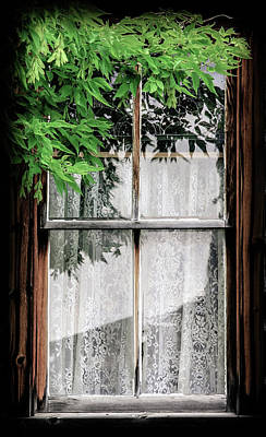 Photograph - Western Window Treatment by Athena Mckinzie
