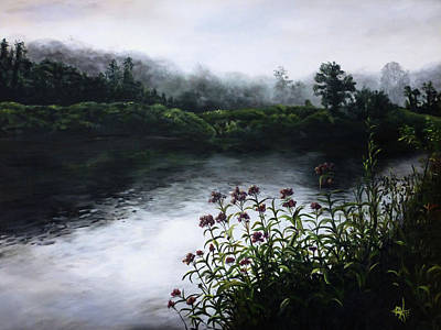 Painting - Westfield River, Ma by Michelle Iglesias