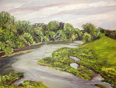 Westfield River Spring Art Print by Richard Nowak