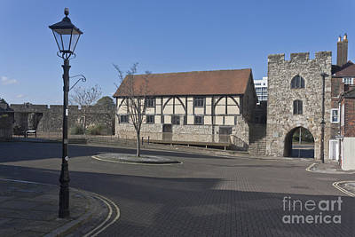 Photograph - Westgate And Tudor Merchants Hall Southampton by Terri Waters