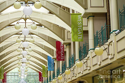 Photograph - Westgate Centre Inside Old, Oxford, England, Uk by Tom Rydel