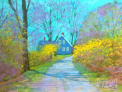 Westhaver Road  Art Print by Rae  Smith