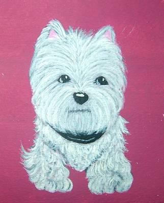 Westie Art Print by Tammy Brown