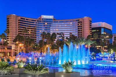 Photograph - Westin Hotel Long Beach 2 by David Zanzinger