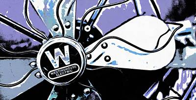 Photograph - Westinghouse Electric Fan - Graphic Novel by Betty Denise