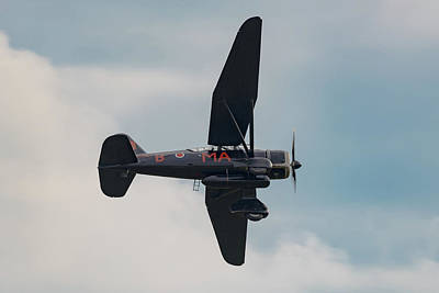 Photograph - Westland Lysander In Flight by Gary Eason