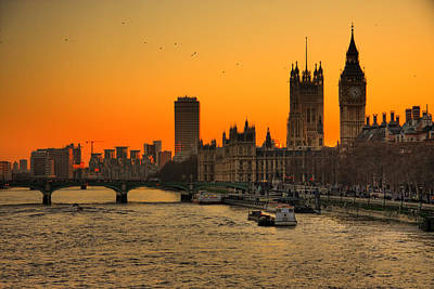 Big Ben Photograph - Westminster & Big Ben London by Photos By Steve Horsley