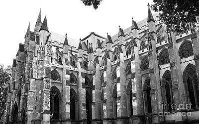 Photograph - Westminster Abbey 2 by Andrew Dinh