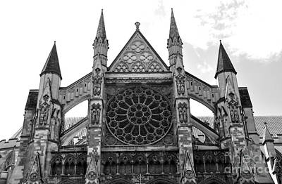 Photograph - Westminster Abbey by Andrew Dinh