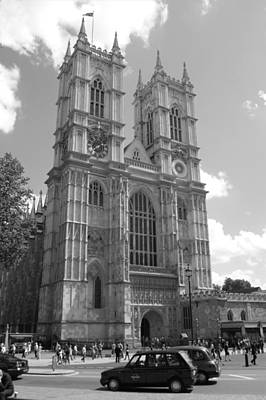 Photograph - Westminster Abbey by Chris Day