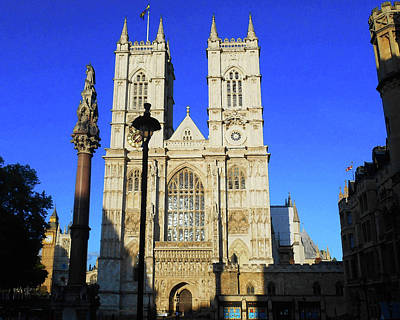 Royalty-Free and Rights-Managed Images - Westminster Abbey London England by Irina Sztukowski