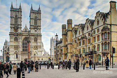 Photograph - Westminster Abbey by Rick Mann