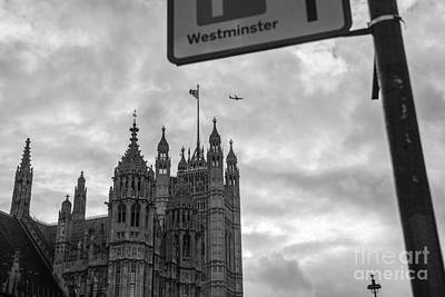 Westminster Abbey Digital Art - Westminster Abbey  by Xi Liang